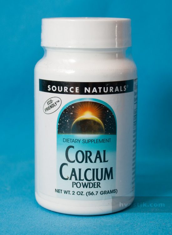 фото Coral Calcium Powder от Source Naturals
