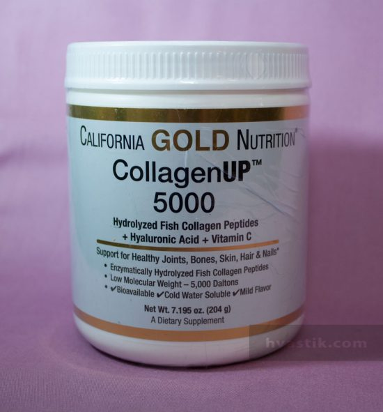 фото коллагена от от California Gold Nutrition