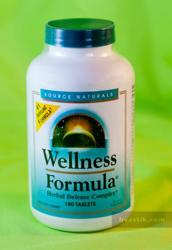 Витамины Source Naturals, Wellness Formula с iherb